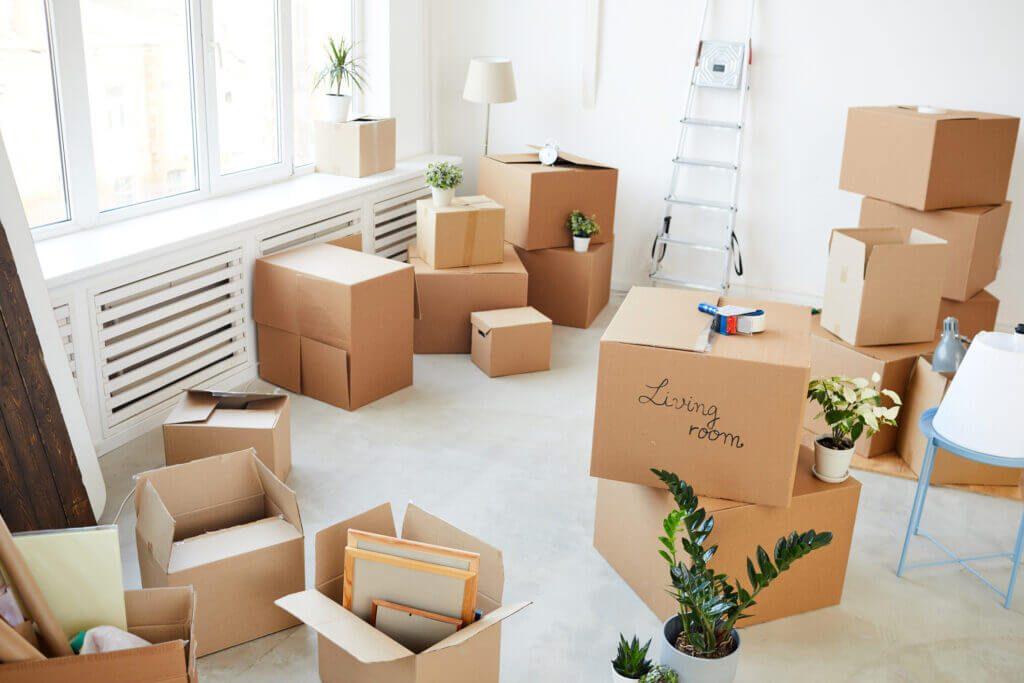 Des cartons pour préparer votre premier emménagement